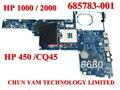 Original 685783-001 motherboard para hp 450 1000 2000 compaq presario cq45 hm70 laptop systemboard 100% testado garantia 90 dias
