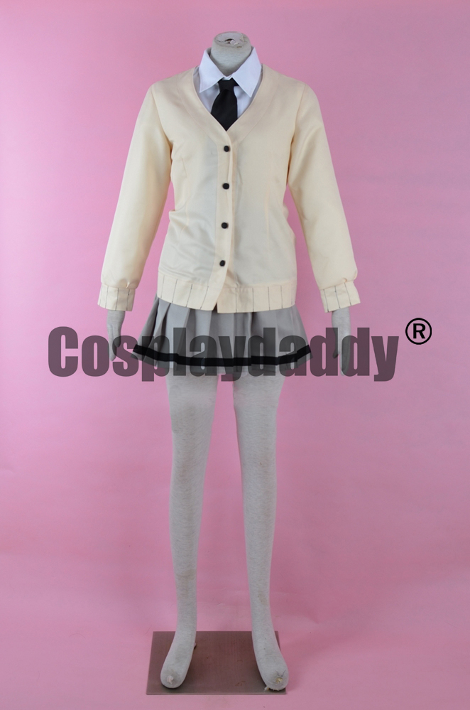 Assassinat classe Rio Nakamura anglais jeune fille Kunugigaoka Junior lycée uniforme robe Cosplay Costume F006
