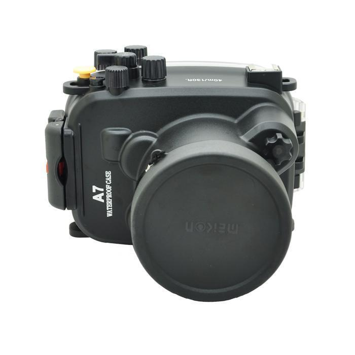 Underwater Waterproof Housing Case Bag 40M 130ft For Sony A7 A7R 28-70mm Lens аксессуар polarpro macro lens hero4 hero3 standard 40m housing p1007