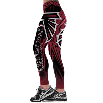 Unisex Football Team Falcons Print Tight Pants Workout Gym Training Running Yoga Sport Fitness Exercise Leggings Dropshipping