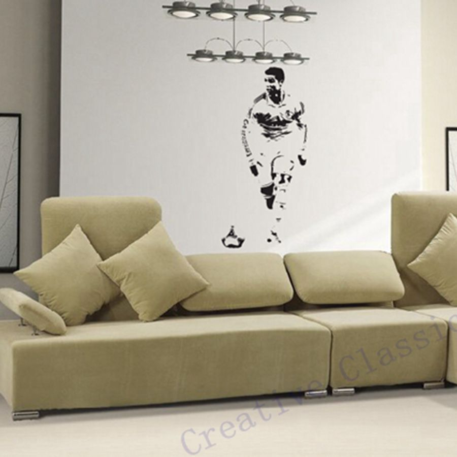 Free Shipping CRISTIANO RONALDO Wall Decal Sticker CR7 Footballer Soccer Wall  Art Decor In Wall Stickers From Home U0026 Garden On Aliexpress.com | Alibaba  ... Part 25