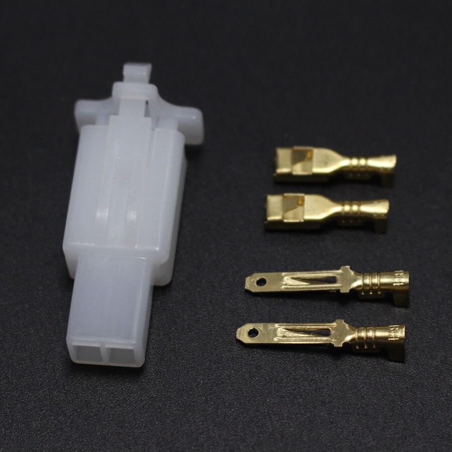 10 Set 3 Pin 10 set//lotto 2.8mm 2//3//4//6//9 pin Automotive 2.8 Cavo elettrico Connettore maschio Femmina cavo connettore spina Kit moto ebike auto