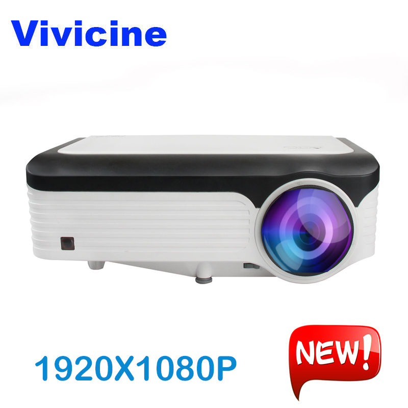 Vivicine M300 1920X1080 Real 1080P Projector, HDMI USB PC Full HD Home Multimedia Video Game Projector Proyector Beamer