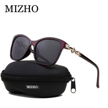 cc3363241e MIZHO Driving Rhinestone Plastic Womens Sunglasses Polarized Square Summer  Fashion Brand Design Female Sun Glasses 2018