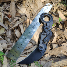 New Caswell Mechanical Claw Knife M390 Powder Steel Blade + Handle Outdoor Camping Multipurpose Hunting EDC Tool