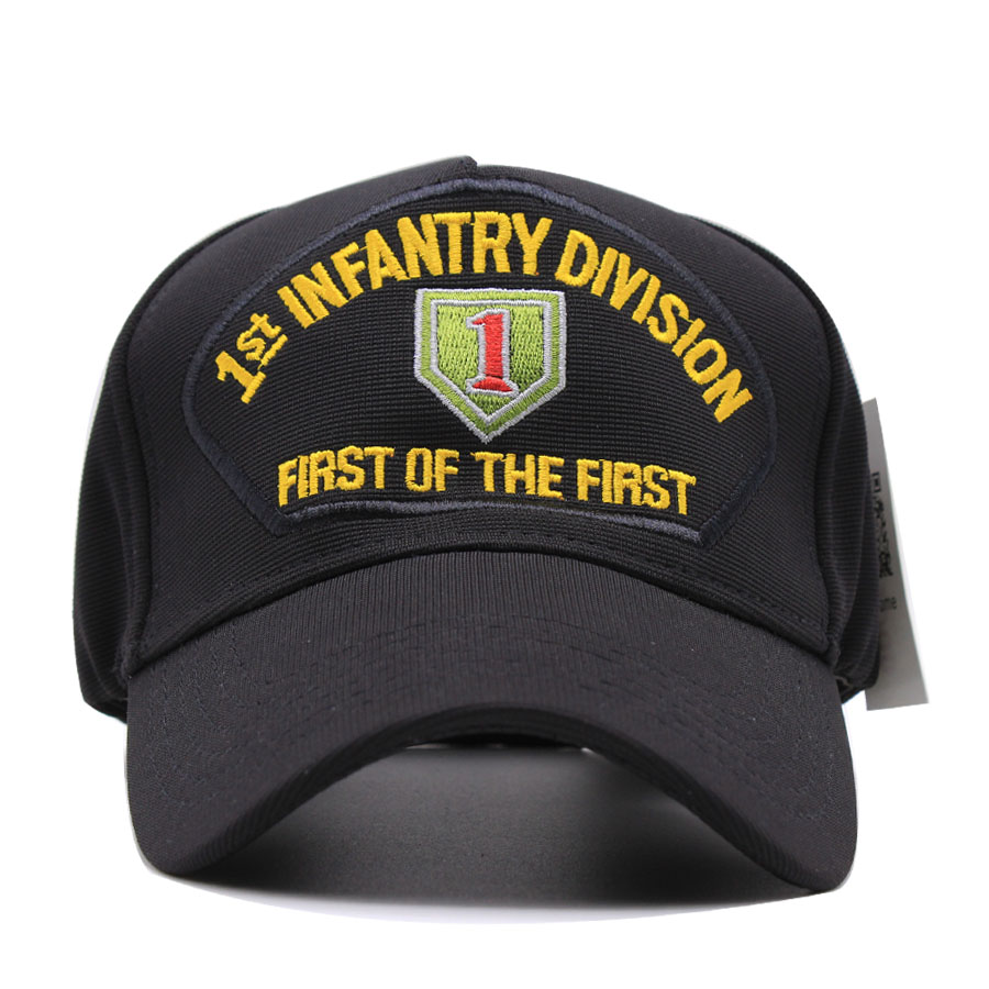Men US Army 1st INFANTRY DIVISION HAT FIRST OF THE FIRST baseball ... ca62ed89b3a7