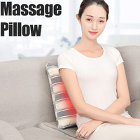 16 head Heating Neck Shoulder Back Body Multifunctional Massage Pillow Shiatsu Massager Device Cervical Healthy Massageador