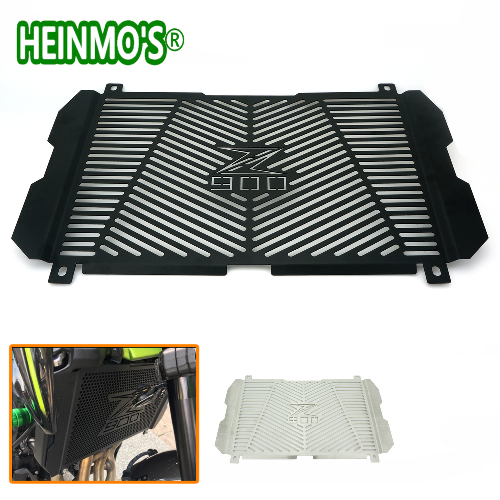 High Quality Stainless Steel For Kawasaki Z900 2017 Motorcycle Radiator Grille Guard Radiator Grille Cover Protector motorcycle saddlebag bracket support bar for kawasaki vulcan vn900 solid steel chrome 24cm 2pcs high quality motorcycle covers