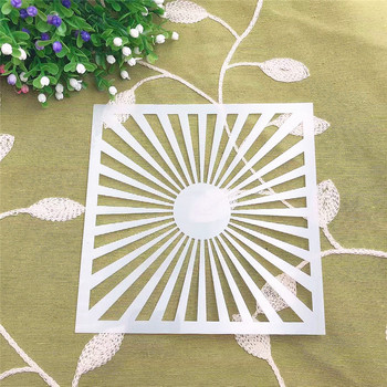 Sunshine DIY cake scrapbook stencils hollow Embellishments printing lace ruler Valentine's Day image
