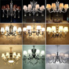 HGHomeart 6 8head Luxury Crystal Chandeliers For The Bedroom Lustre Design Suspension K9 Led Chandelier Luminarias