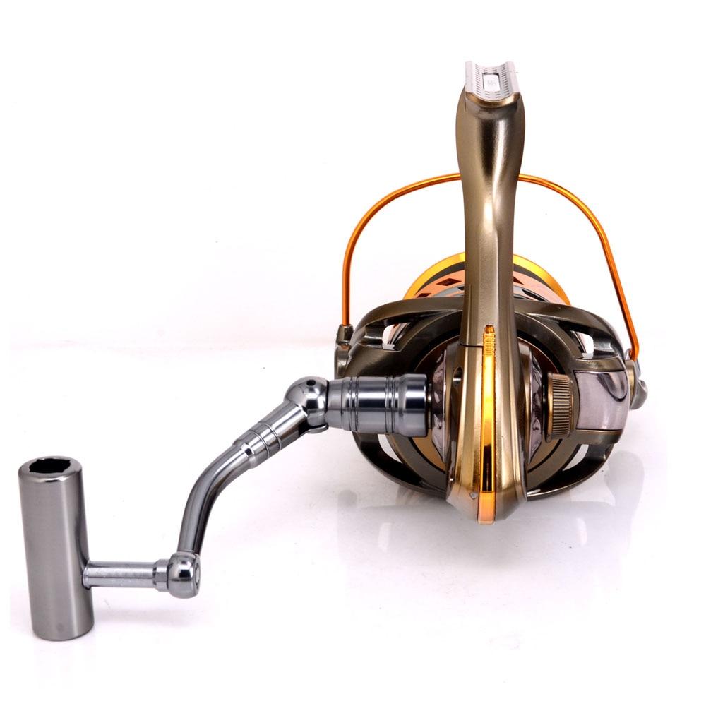 8000 / 9000Big taille pleine bobine de métal Jigging trolling long - Pêche - Photo 4
