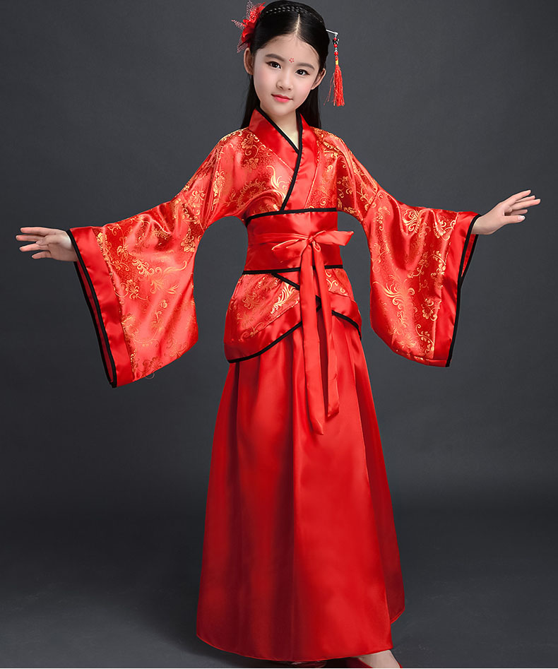 69597aea16 US $4.4 33% OFF|New Arrival Beautiful Chinese National Clothes Girls  Vintage Dress Costume Kids New Years Eve Dresses for Girls Fancy-in Dresses  from ...