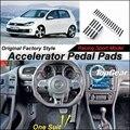 Ускоритель автомобилей Педаль Pad/Крышка Оригинальных Заводских Спортивных гонки Модель Дизайн Для VW Golf/Jetta MK6 2008 ~ 2013 настройка