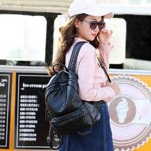 100% женская обувь из натуральной кожи крокодила шаблон корейский женщин рюкзак натуральная кожа из воловьей кожи наппа кожа модные женские сумки