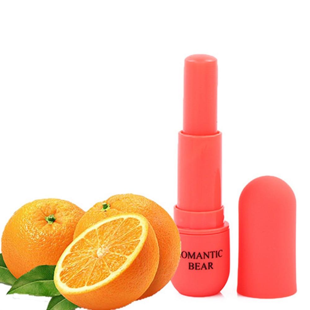 5 Colors Make-Up Lipstick Moisturizing Fruit Flavor Lip Ball Temperature Color Change Lasting Lipstick