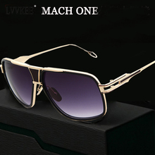 Top quality brand designer Male Sunglasses Vintage Oversized women/men 18K Glod