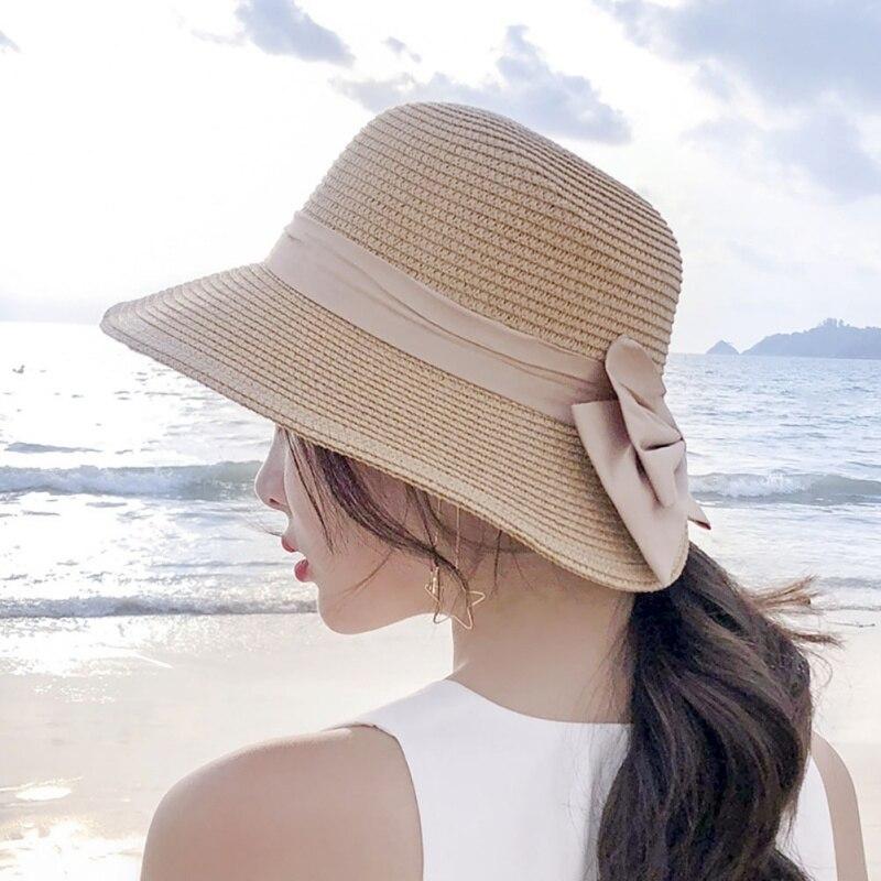 bce77ea4e42 2018 Summer Hat Straw Hat Outdoor Tourism Beach Summer Essentials ...