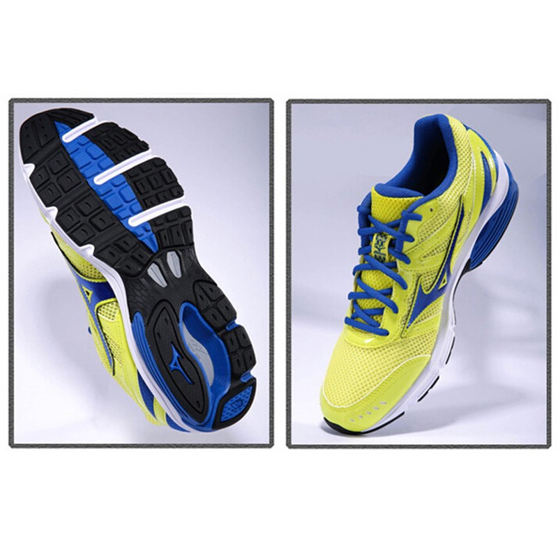 MIZUNO Sport Sneakers Men's Shoes WAVE IMPETUS 2 Running Shoes DMX Technology Cushioning Running Shoes J1GE141305 XYP227 7