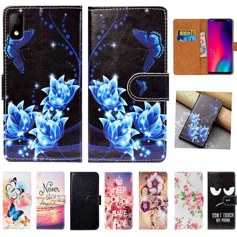 For Elephone A4 Pro Case High Quality Pu Leather 5.85 Flip Wallet Case Back Cover Book Case Bag