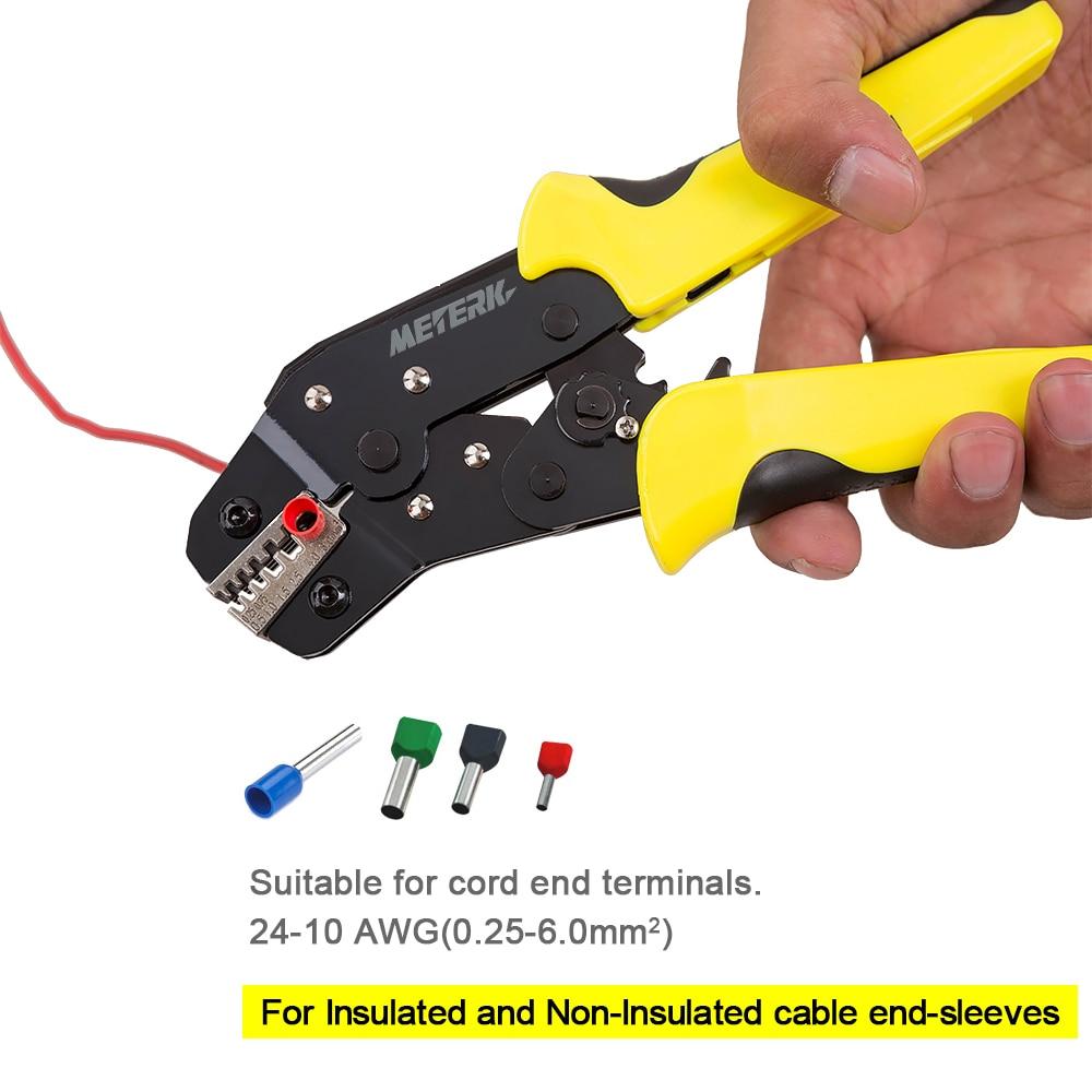 0,25 6 mm2 Drahtcrimper multi tool Engineering Ratchet ...