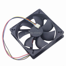 5PCS Gdstime 120x120x25mm DC 12V 120mm PWM 4Pin Fan for PC Computer CPU Cooler Radiator hot sale 4pcs pc cpu cooler 120 mm fan 12v 4pin dc brushless pc computer cooling fan 1800prm for video card thermal pad wholesal