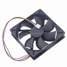 5PCS Gdstime 120x120x25mm DC 12V 120mm PWM 4Pin Fan for PC Computer CPU Cooler Radiator