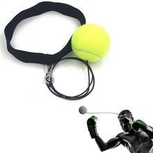 Боксерский Тренировочный Мяч с головной повязкой для тренировки