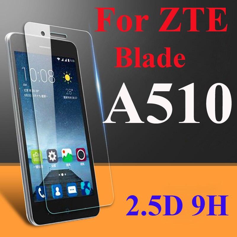 a1a03cc6c0261 2.5d 9 h protector de pantalla vidrio templado para lámina ZTE a510 a510t  ba510 L3 z9 Max a610 V6 más a612 l4 a520 a450 V8 pro Lite Películas