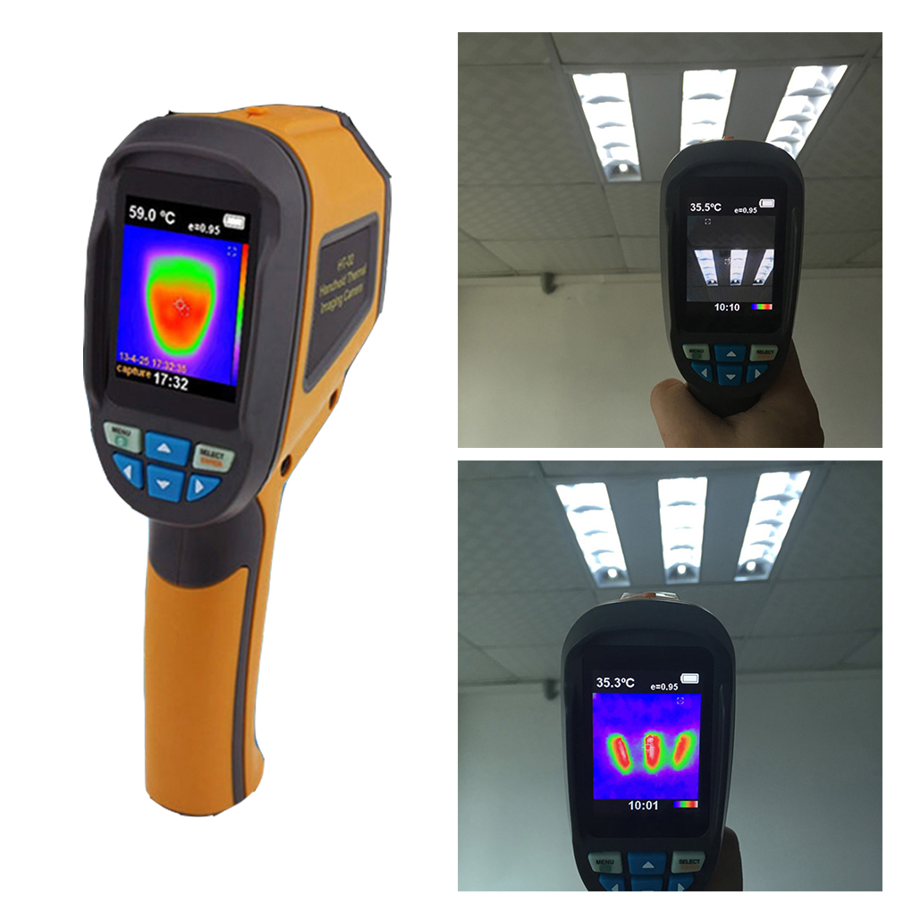 HT-02D Handheld IR Thermal Imaging Camera Digital Display 1024P 32x32 Infrared Image Resolution Thermal Imager baile pretty love colby розовый вибратор с функцией управления голосом