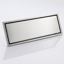 Stainless Steel Floor Drain 304 Bathroom Large Flow Deodorant Insect Repellent Long Water Back To