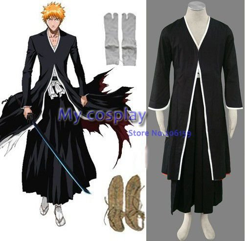 Japan Anime Bleach Ichigo Kurosaki Cosplay Half Full Hollow Halloween Mask