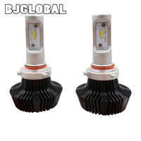 BJGLOBAL New Style 2PCS Car Truck K6 H11 48W LED Headlights High Power 6000K LED Super