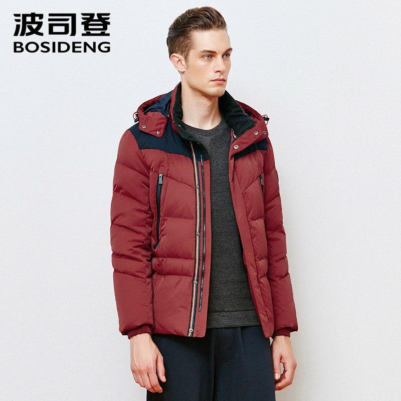 BOSIDENG открытый теплое пальто Высокое качество Куртки пальто Тёплое Бренды для мужчин мужские верхняя одежда пальто Одежда для мужчин Мужско...