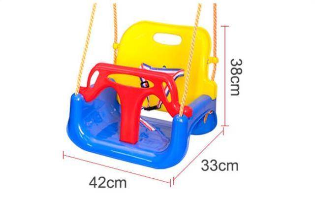 3 In 1 Multifunctional Baby Swing Hanging Basket Outdoor Kids Toy Baby Swing Toy Patio Swings 6