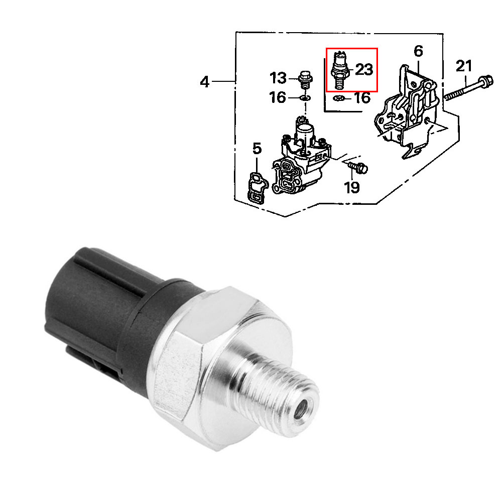 jeazea 37250 pne g01 37250pneg01 car valve switch timing oil pressure sensor for honda [ 1000 x 1000 Pixel ]