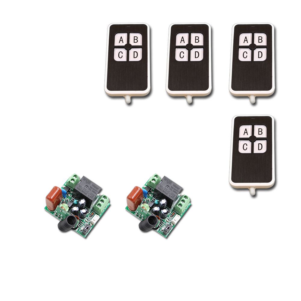 AC220V Wireless Remote Switch 1CH 10A Mini Receiver Module Remote Control Switch Mini RF Wireless Remote Control & Transmitter dc12v rf wireless switch wireless remote control system1transmitter 6receiver10a 1ch toggle momentary latched learning code
