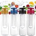 800 ml garrafa de suco de frutas infundindo garrafa térmica de água infusor portátil sports lemon tampa flip para a mesa da cozinha de viagem de acampamento ao ar livre