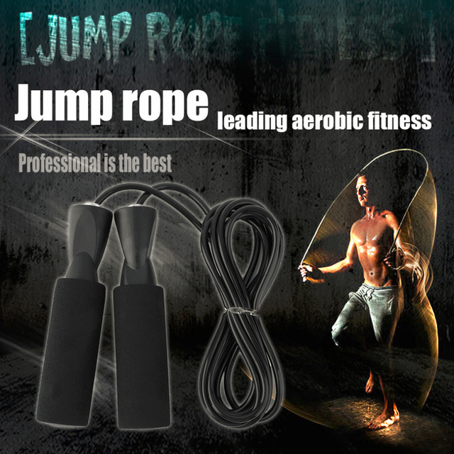 2.5M Skipping Jump Speed Rope For Training Sports Workout Exercise Fitness Boxing Lose Weight Calorie Black 7 Color New Brand
