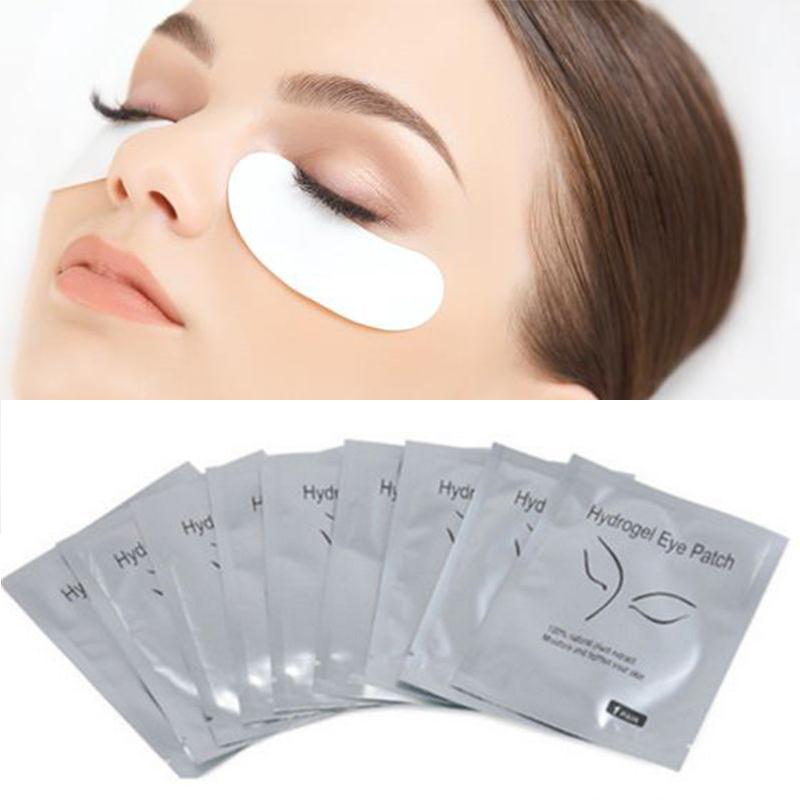 03dd4cbcd36 100 Pairs Eye Gel Pads Lint Free Under Eye Patches Eyelash Extensions Eyes  Mask Lash Extension ...