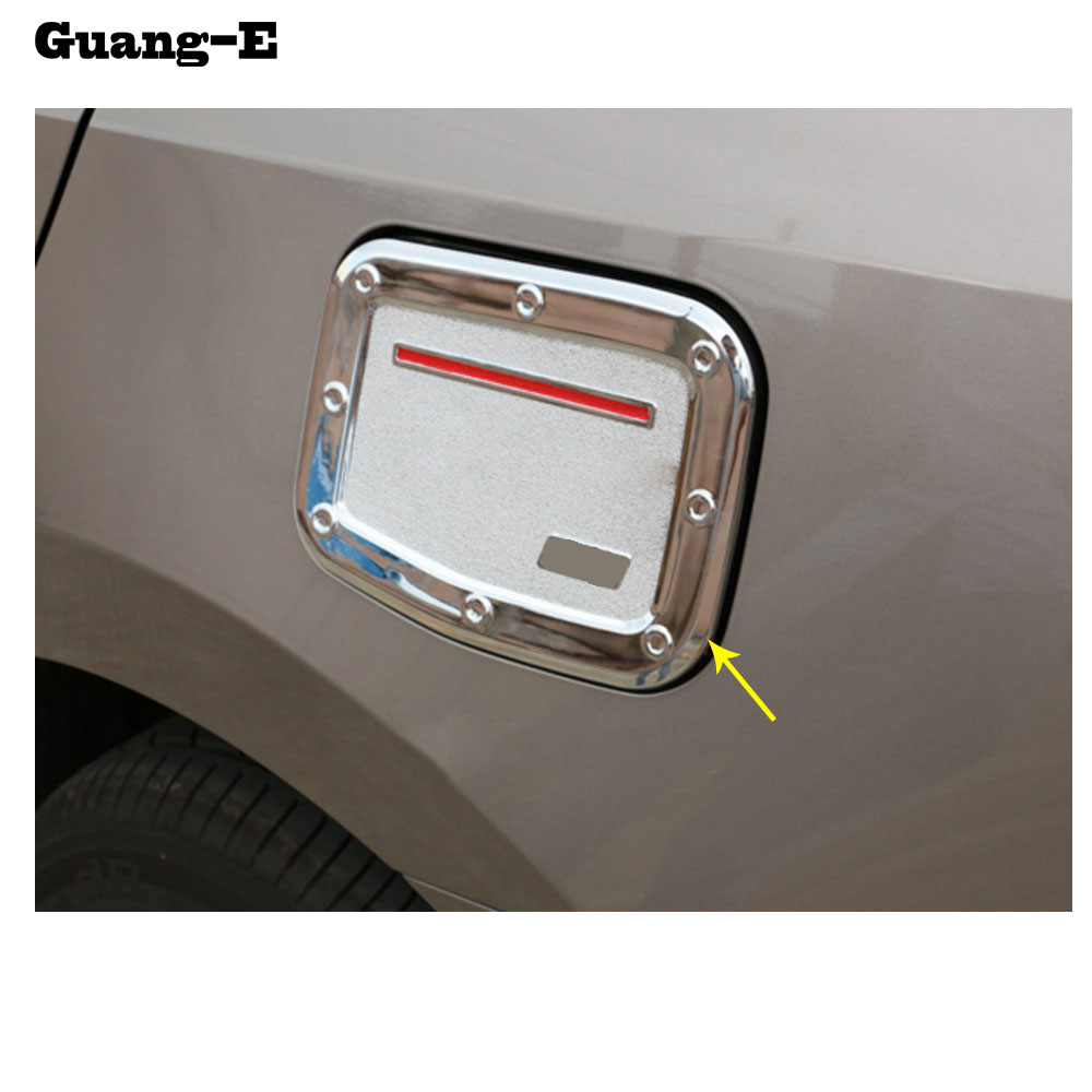 Car body Styling Gas/Fuel/Oil tank Cover Cap stick lamp frame trim moulding hoods 1pcs For Toyota Corolla Altis 2014 2015 2016