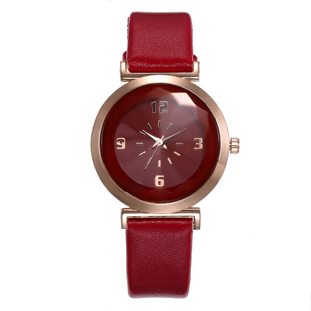 New Fashion Leather Women Watches Fresh Women Wristwatch Ladies Watch Small Dial clock bayan kol saati in Women 39 s Watches from Watches