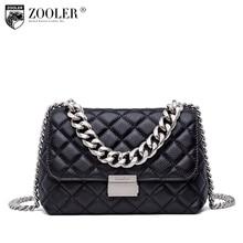 Top!New shoulder Bags for women 2018 new messenger bag ladies Woman bag ZOOLER genuine leather bag Classic bolsa feminina B250 sales zooler 2017 new designed woman bag 100