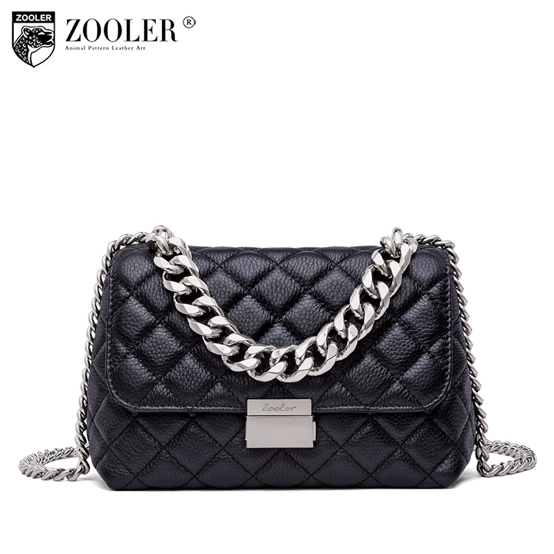 ZOOLER Top!New shoulder Bags for women 2018 messenger bag ladies cross body genuine leather bags Classic bolsa feminina B250 zooler top new shoulder bags patchwork travel bag cross body small 2018 woman bag ladies genuine leather bag bolsa feminina c159