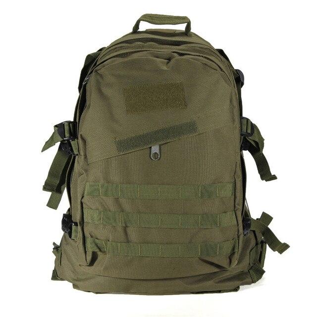 0b1ddac98 Calidad Superior 1000d 40l molle 3D Militar mochila táctica al aire libre  deporte hombres Bolsas de