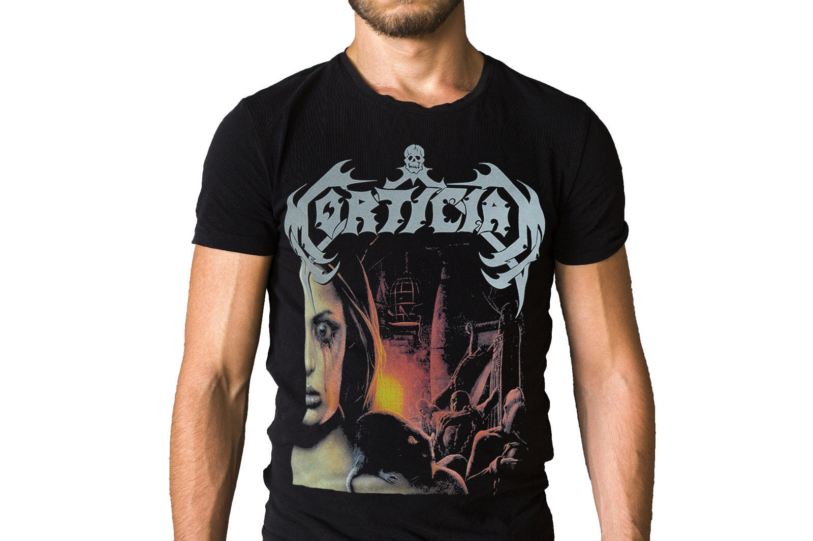 Mortician Domain Of Death 2001 Album Cover T Shirt