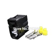 10pcs 2pin Automotive waterproof connector with terminal block DJF7024Y-2-21