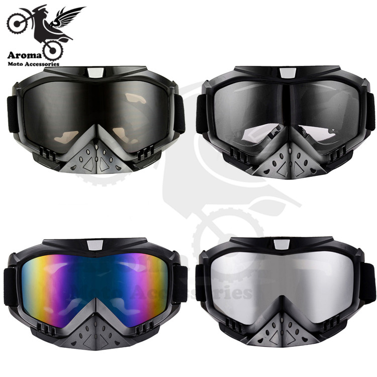 hot ATV mask Outdoor font b sports b font racing moto glasses with nosepiece motorcycle dirt