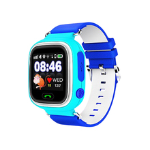 Q90 GPS Smartwatch Cellphone WIFI Sensible Watch Youngsters SOS Name Location Finder System Tracker Child Secure Anti Misplaced Monitor