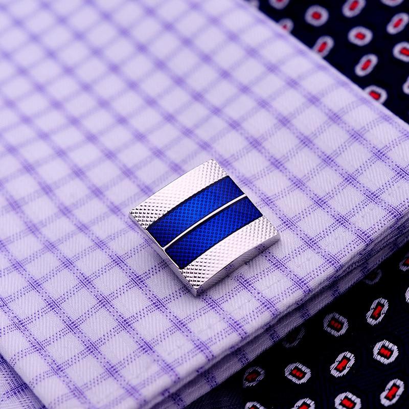 KFLK 2020 럭셔리 셔츠 커프스 망 선물 브랜드 커프스 - 패션 쥬얼리 - 사진 5