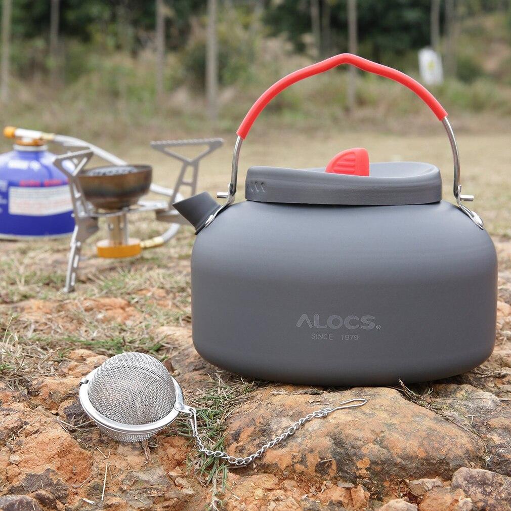Aluminio cw-k03 1.4l alocs hervidor tetera cafetera hervidor de agua camping pic